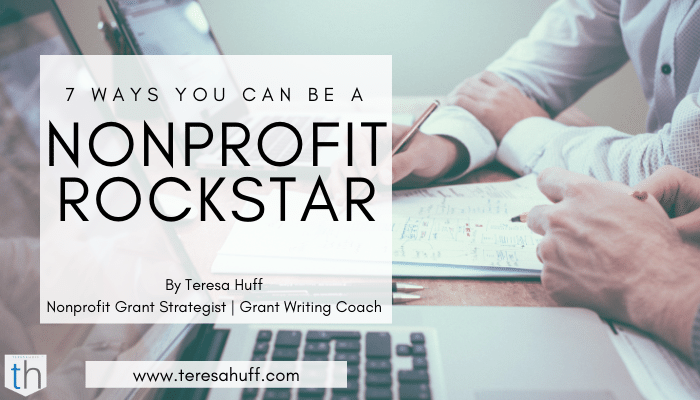 Nonprofit consulting tips - Teresa Huff Grant writing coach