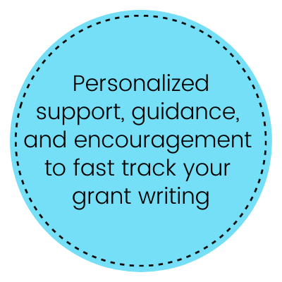 Grant writing mentor - Teresa Huff