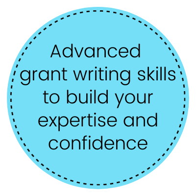 Advanced grant writing skills - Teresa Huff